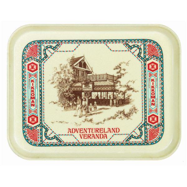 Adventureland Veranda Dining Tray.