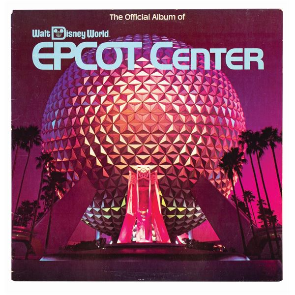 The Official Album of Epcot Center Record.