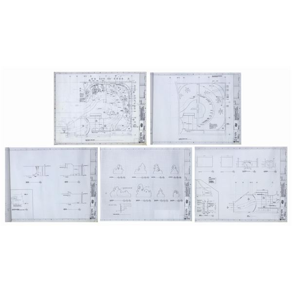Set of (5) Living with the Land Architectural Plans.