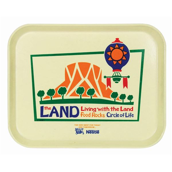 The Land Pavilion Dining Tray.