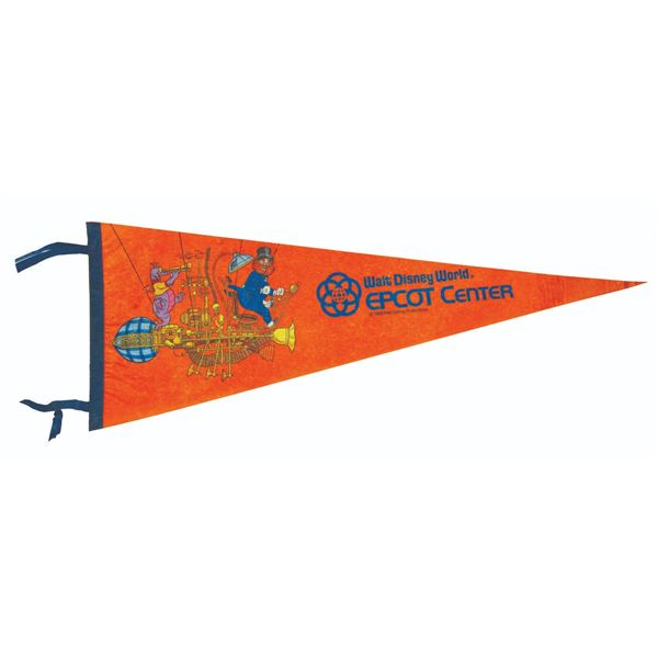 Epcot Center Journey into Imagination Pennant.