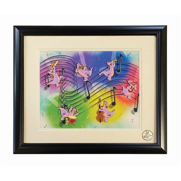 """Musical Figments"" Framed Pin Set."