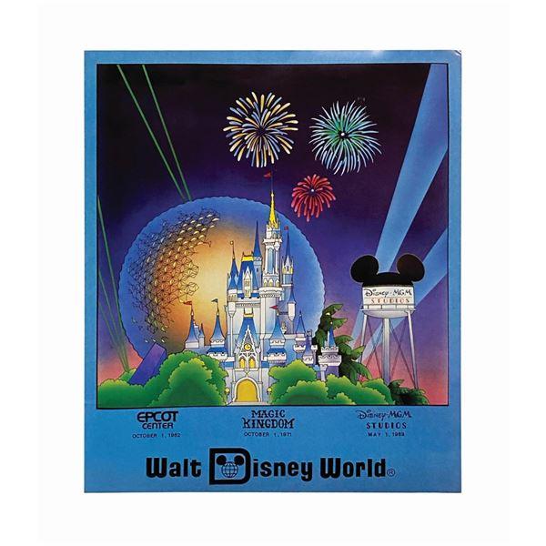 Walt Disney World Resort Poster.