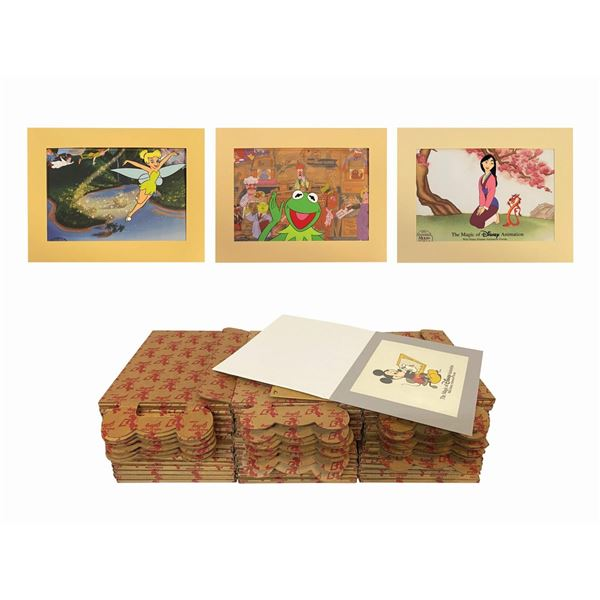 Collection of (50) Animation Gallery Hand-Painted Cels.