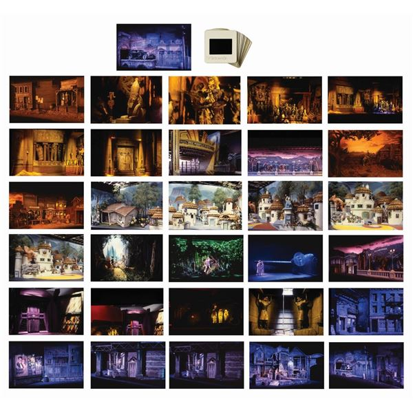 Set of (31) Great Movie Ride Model Reference Slides.