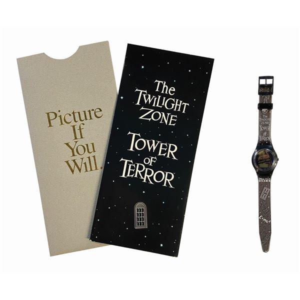Disney-MGM Tower of Terror Passport & Watch.