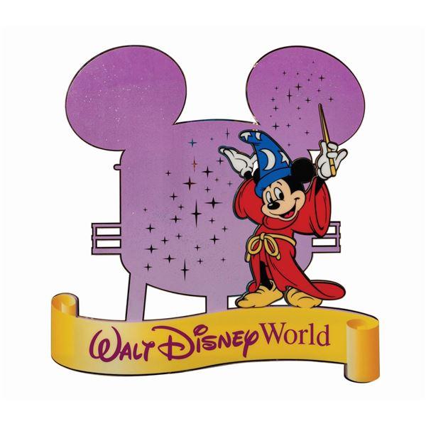 Walt Disney World Water Tower Sign.