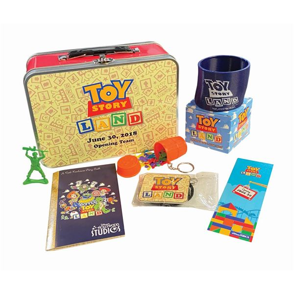 Toy Story Land Opening Team Crew Gift.