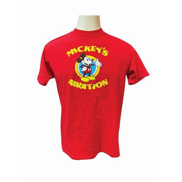 Mickey's Audition Imagineering Crew T-Shirt.