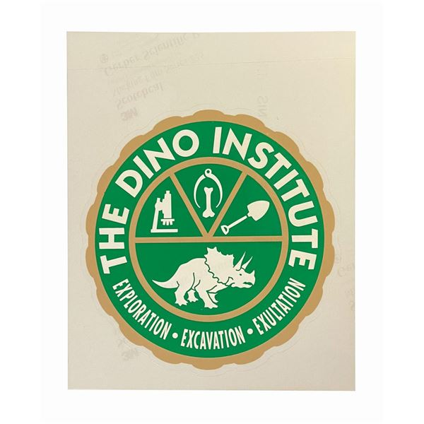 Animal Kingdom The Dino Institute Trash Can Decal.