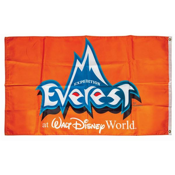 Expedition Everest Attraction Banner.
