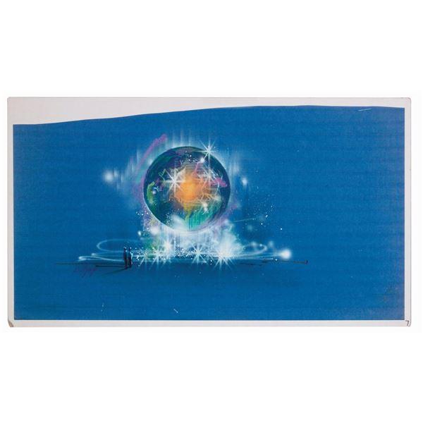 Tokyo DisneySea Aquasphere Concept Art Print.