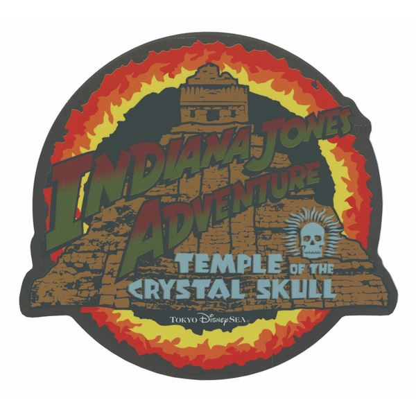 Tokyo DisneySea Indiana Jones Adventure Sticker.