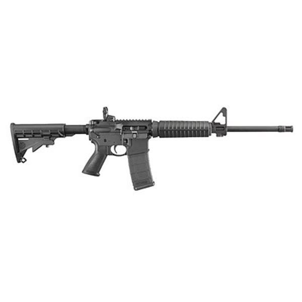 """RUGER AR-556 556NATO 16.1"""" BLK 30RD"""