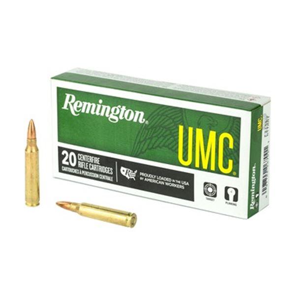 REM UMC 223REM 55GR FMJ - 20 Rds