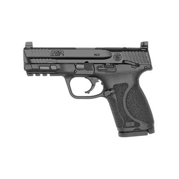 """S& W M& P 2.0 9MM 4"""" 15RD BLK OR TS"""