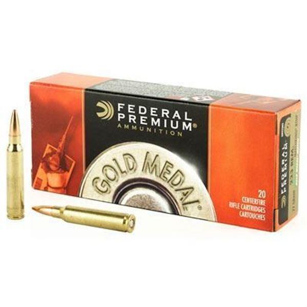 FED GOLD MDL 223REM 69GR BTHP - 20 RDS