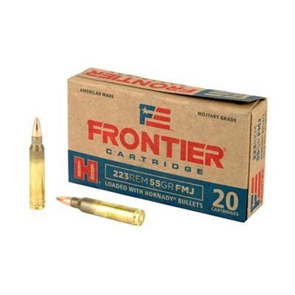 FRONTIER 223REM 55GR FMJ - 100 RDS