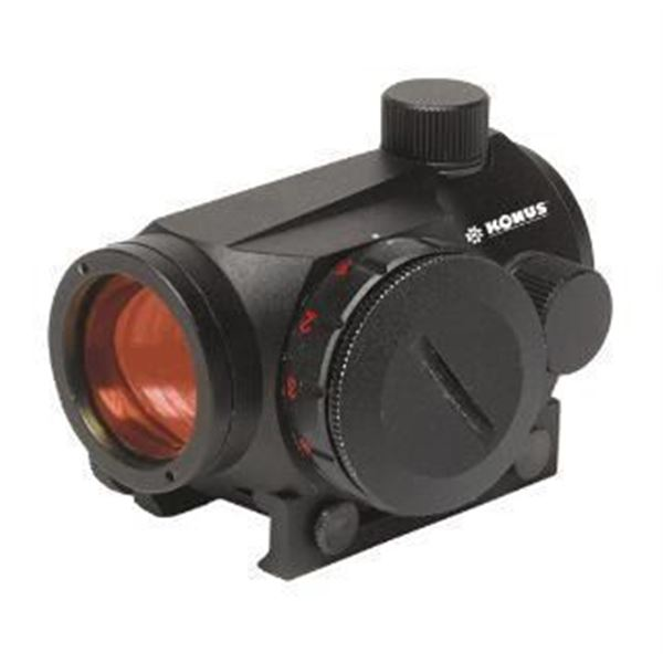 "KON SIGHT-PRO ATOMIC 2.0 2"" RED DOT W/RAIL SYS"
