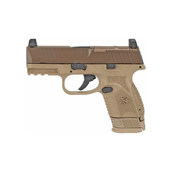 "FN 509 COMPACT MRD 3.7"" 9MM 15RD FDE"