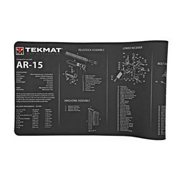TEKMAT ULTRA RIFLE MAT AR15 BLK