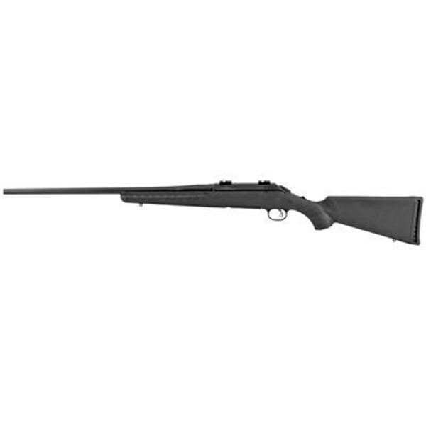 """RUGER AMERICAN 308WIN 22"""" BLK 4RD"""