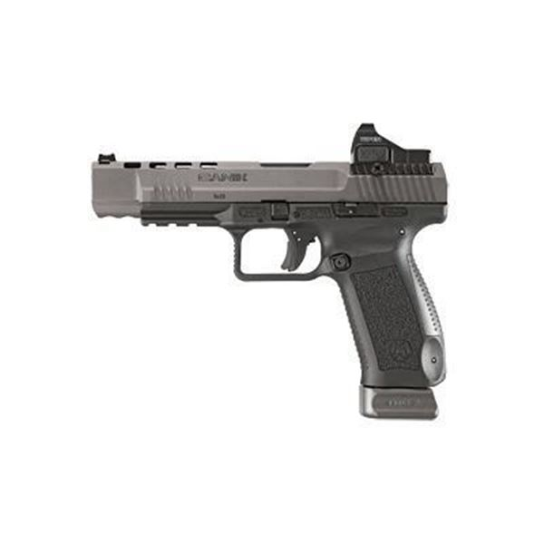 """CANIK TP9SFX 9MM 5.2"""" 20RD W/ RED DO"""