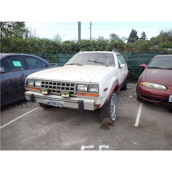1982 American Motors Eagle 30
