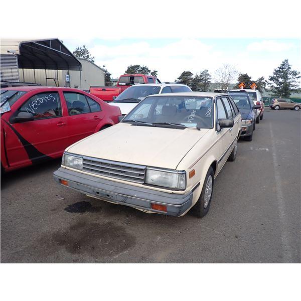 1985 Nissan Sentra