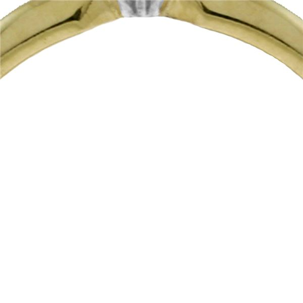 Genuine 0.03 ctw Diamond Anniversary Ring 14KT White Gold - REF-30M2T