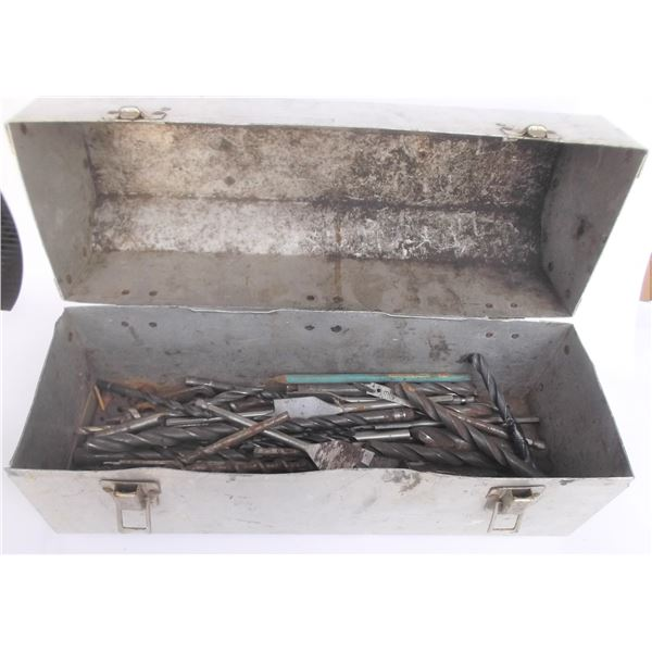 Tool Box of Drill Bits
