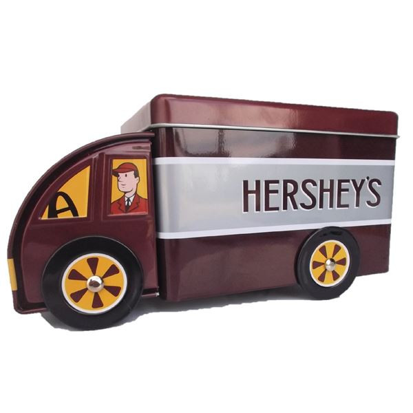 Hershey's Delivery Truck Tin