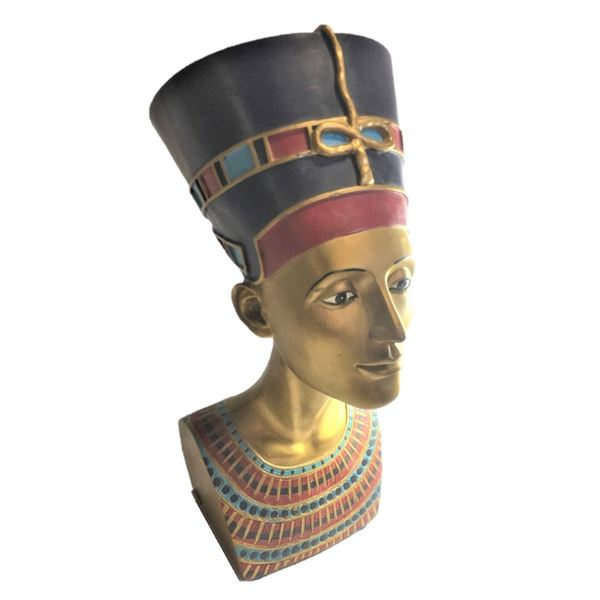 Bust of Nefertiti - 14.5 inches and 4.8 kg , Heavy Item Pick Up Recommended