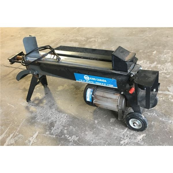 King Canada Log Splitter - PICK UP ONLY, VERY HEAVY