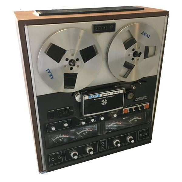 AKAI Reel to Reel Player 280-D-SS , Heavy Item Pick Up Recommended