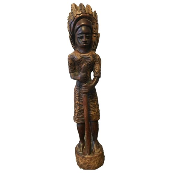 """Wooden Carving - 21"""" high"""