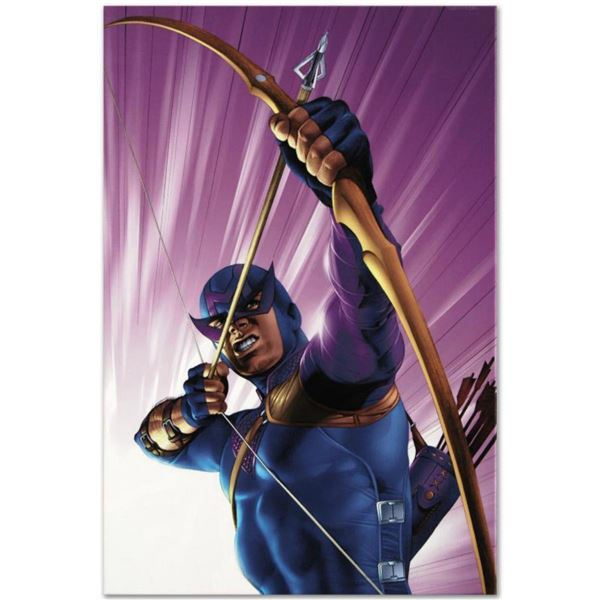 "Marvel Comics ""The Pulse #10"" Numbered Limited Edition Giclee on Canvas by Mike Mayhew with COA."