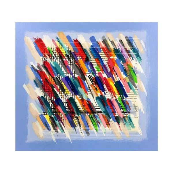 "Calman Shemi, ""Jazz Notes"" Limited Edition Serigraph, Numbered and Hand Signed with Letter of Authen"