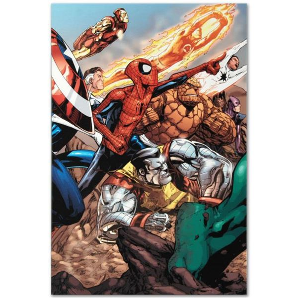 "Marvel Comics ""Spider-Man & The Secret Wars #3"" Numbered Limited Edition Giclee on Canvas by Patrick"