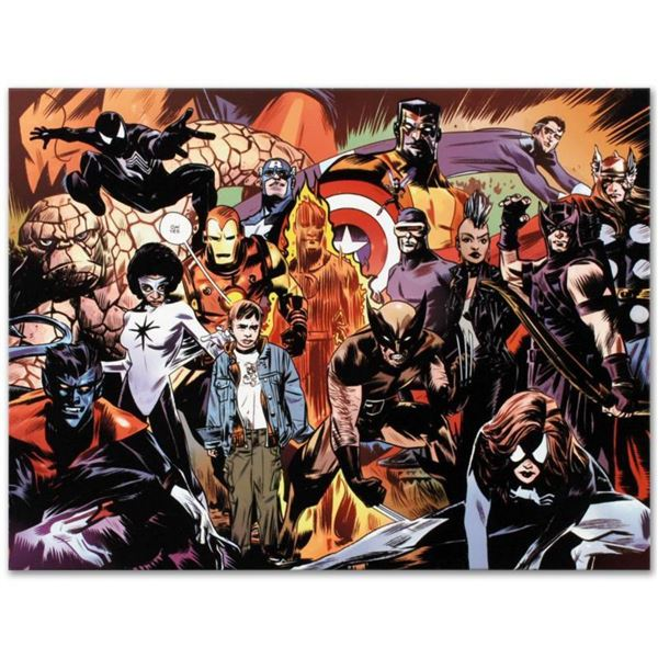 "Marvel Comics ""Marvel 1985 #6"" Numbered Limited Edition Giclee on Canvas by Tommy Lee Edwards with C"