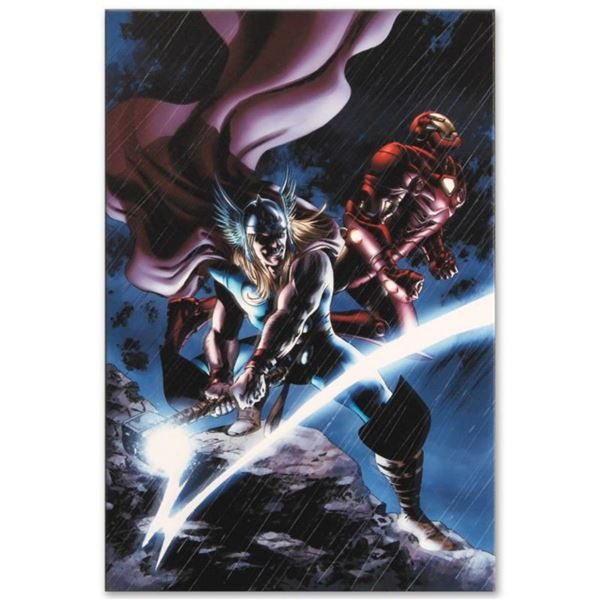 "Marvel Comics ""Thor #80"" Numbered Limited Edition Giclee on Canvas by Steve Epting with COA."