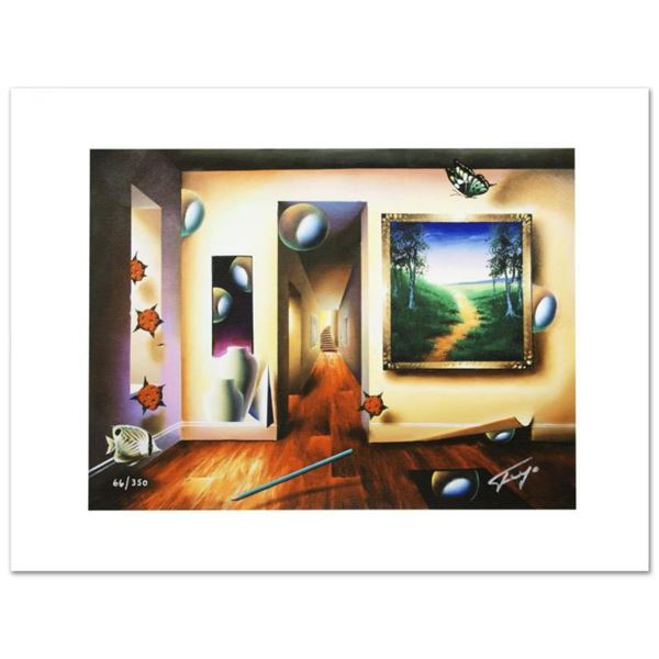 """Dreamlike Corridor"" Limited Edition Giclee on Canvas by Ferjo, Numbered and Hand Signed by the Arti"