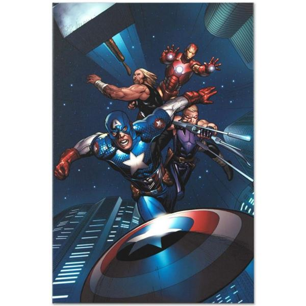 """Marvel Comics """"Ultimate New Ultimates #5"""" Numbered Limited Edition Giclee on Canvas by Frank Cho wit"""