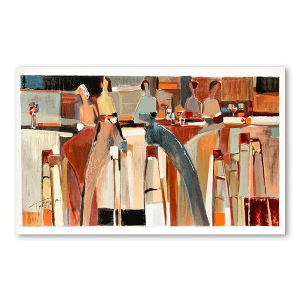 """Yuri Tremler, """"Girlfriends"""" Limited Edition Serigraph, Numbered and Hand Signed with Letter of Authe"""