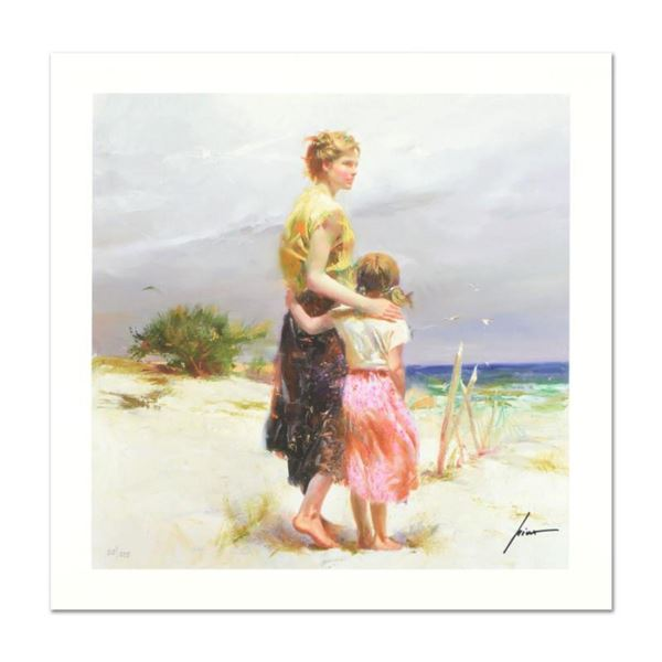 """Pino (1939-2010) """"Summer's Breeze"""" Limited Edition Giclee. Numbered and Hand Signed; Certificate of"""
