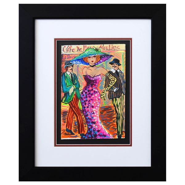 """Patricia Govezensky- Original Watercolor """"Stella"""""""