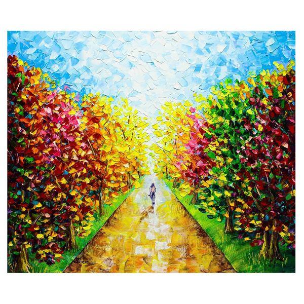 "Svyatoslav Shyrochuk- Original Oil on Canvas ""Alone"""