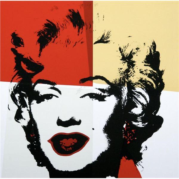 """Andy Warhol- Silk Screen """"Golden Marilyn 11.38"""""""