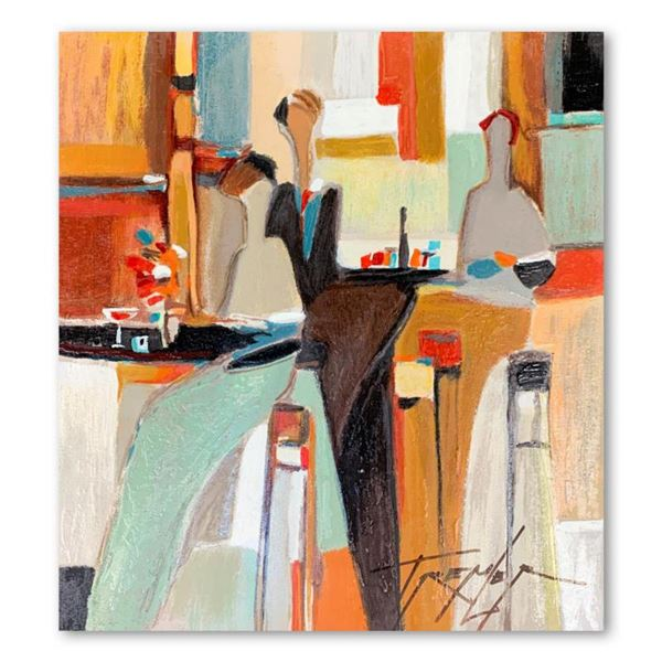 Yuri Tremler, Hand Signed Limited Edition Serigraph on Board with Letter of Authenticity.
