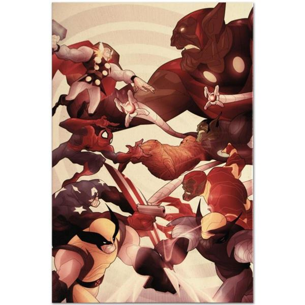 """Marvel Comics """"Secret Invasion: Front Line #5"""" Numbered Limited Edition Giclee on Canvas by Juan Doe"""
